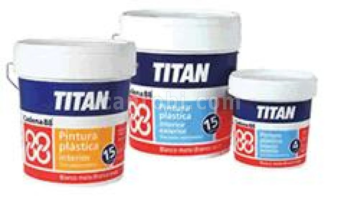 Ca 39 n robi productos pintura pl stica titan cadena 88 - Pintura plastica interior ...